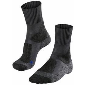 Falke TK1 Cool Trekking Sokken Dames, asphalt melange